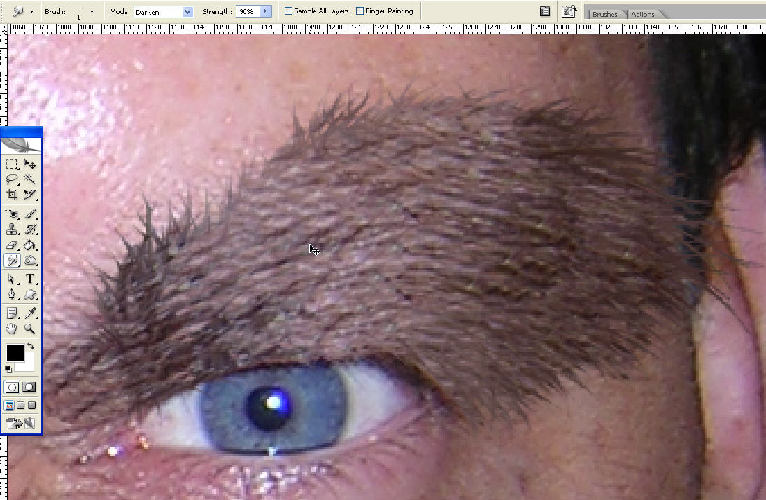 Turning Yourself Into A Werewolf With Photoshop Photoshop Tutorials
