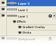Photoshop Tutorials Vista Style Nav Bar