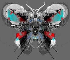 Techno Butterfly